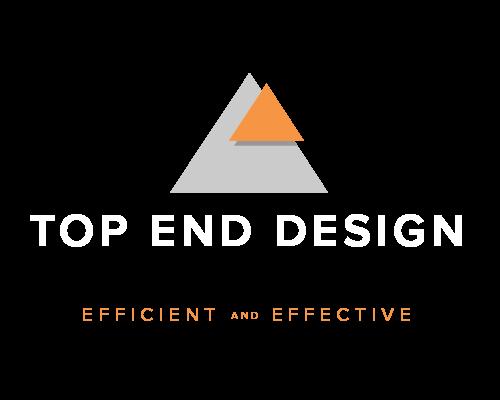Top End Design logo